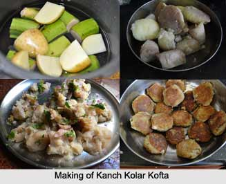 Kanchkolar Kofta Curry, West Bengal Cuisine