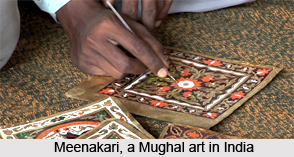 Meenakari, Mughal Art in India