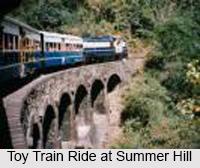Summer Hill, A Small Town At Shimla