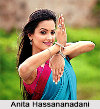Anita Hassananadani, Indian Actress