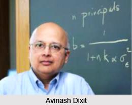 Avinash Dixit, Indian Economist