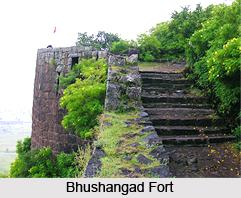 Bhushangad Fort, Monument of Maharashtra