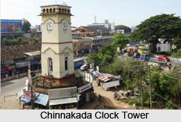 Chinnakada Clock Tower, Kollam, Kerala