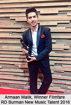 Filmfare Awards for New Music Talent, RD Burman Award