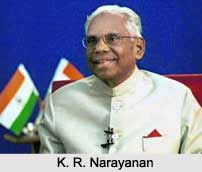 K. R. Narayanan , Tenth  President of India