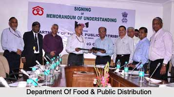 Ministry of Consumer Affairs, Food and Public Distribution, Indian Ministries
