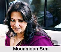 Moonmoon Sen, Indian Actress