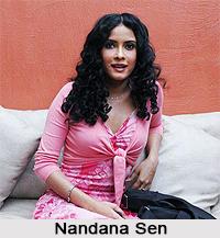 Nandana Sen, Indian actress
