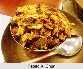 Papad Ki Churi, Indian Snacks