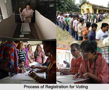Process of Registration for Voting, Elections in India