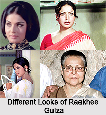 Raakhee Gulzar, Bollywood Actress