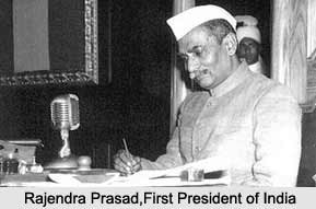 Rajendra Prasad , First President of India