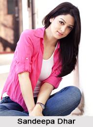 Sandeepa Dhar, Indian Actress
