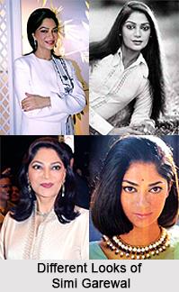 Simi Garewal, Bollywood Actress