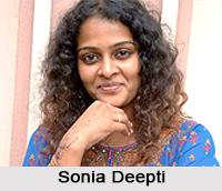 Sonia Deepti, Indian Actress