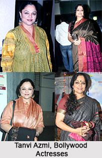 Tanvi Azmi, Bollywood Actresses