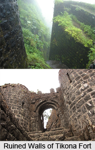 Tikona Fort, Monuments of Maharashtra