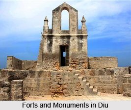 Monuments Of Diu, Monuments of West India