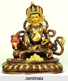 Jambhala, God of Wealth, Buddhism