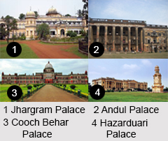 Palaces of West Bengal