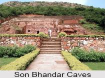 Son Bhandar Caves, Rajgir, Bihar