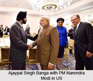 Ajaypal Singh Banga, Indian Businessman