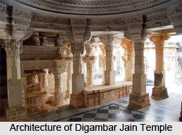 Digambar Jain Temple, Palitana, Gujarat