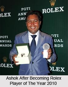 Ashok Kumar, Indian Golf Player