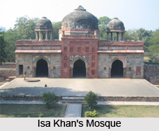 Tomb and Mosque of Isa Khan in Delhi