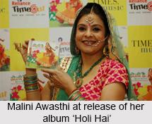 Malini Awasthi, Indian Folk Singer