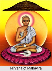 Nirvana of Lord Mahavira
