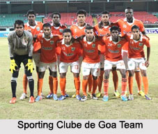 Sporting Clube de Goa, Indian Football Club