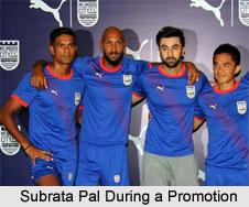 Subrata Pal, Indian Football Player