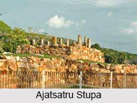Ajatsatru Stupa, Rajgir, Bihar