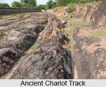 Ancient Chariot Tracks, Rajgir, Bihar