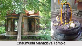 Chaumukhi Mahadeva Temple, Vaishali, Bihar