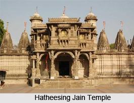 Hatheesing Jain Temple, Ahmedabad, Gujarat
