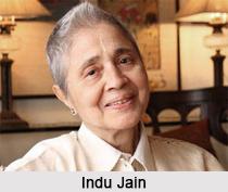 Indu Jain, Indian Business Woman