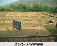Jeevak Amravana Vihar, Rajgir, Bihar
