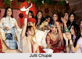Jutti Chupai, Traditional Game, Indian Wedding