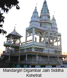 Mandar Giri Digambar Jain Temple, Bihar