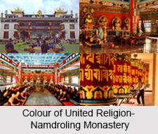 Namdroling Monastery, Mysore district, Karnataka