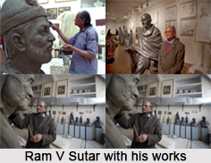 Ram V Sutar, Indian Sculptor