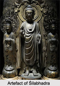 Shilabhadra, Buddhist Monk