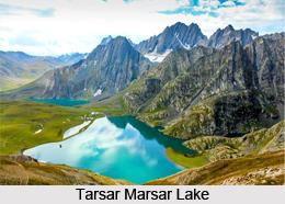 Tarsar Marsar Lake, Lakes of India