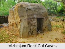 Vizhinjam Rock Cut Caves, Kerala