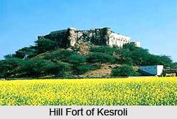 Hill Fort of Kesroli, Alwar, Rajasthan