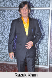 Razak Khan, Indian Film Comedian