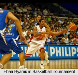 Eban Hyams, Indian Basketball Player