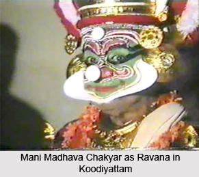 Mani Madhava Chakyar, Indian Theatre Artist